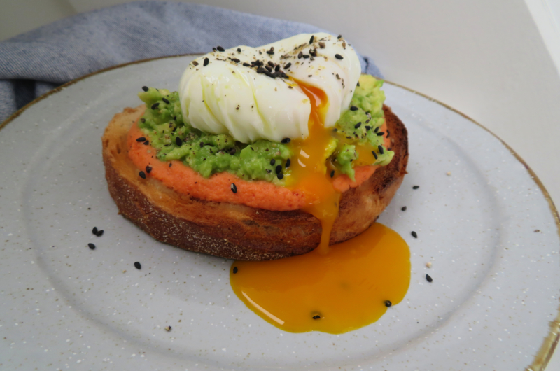 The Perfect Toast - `salmorejo´ sauce, avocado and poached egg