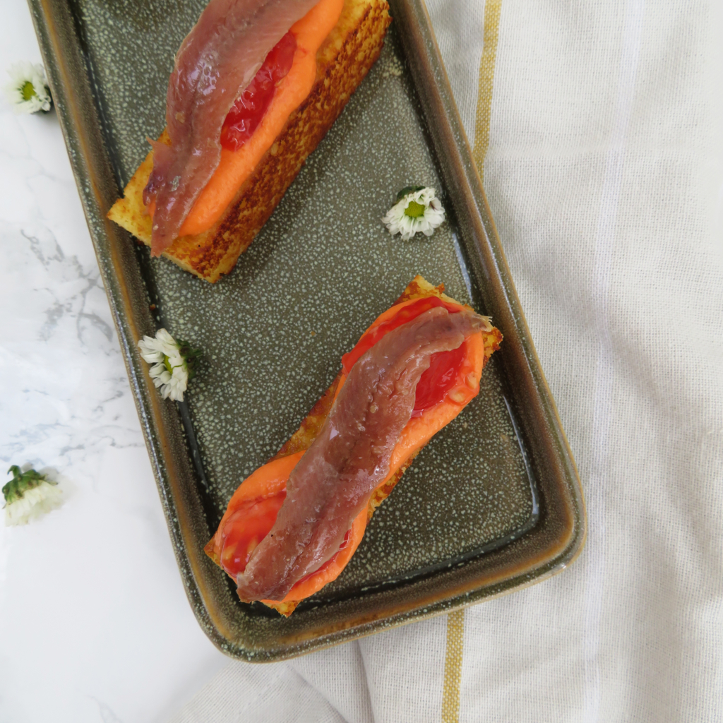 anchovy - anchoa con tomate