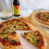homemade beer pizza dough