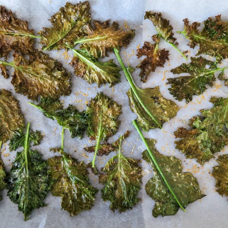 easy kale chips-summer snack