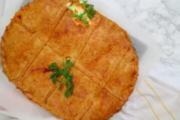 Sardine empanada - Galician pie with sardines